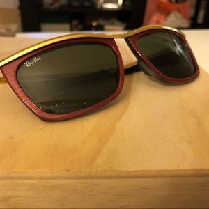 6912f02fb0b Ray-Ban Accessories - Vintage Ray Ban B L Olympian II Sunglasses